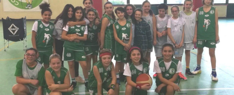 Minibasket femminile: partenza alla grande!
