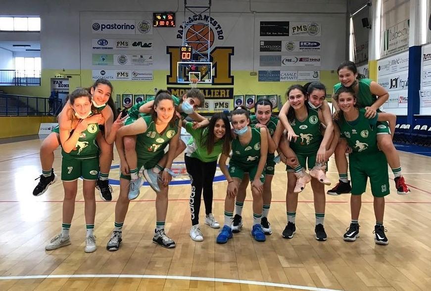 Under 14 femminile: che vittoria a Moncalieri!