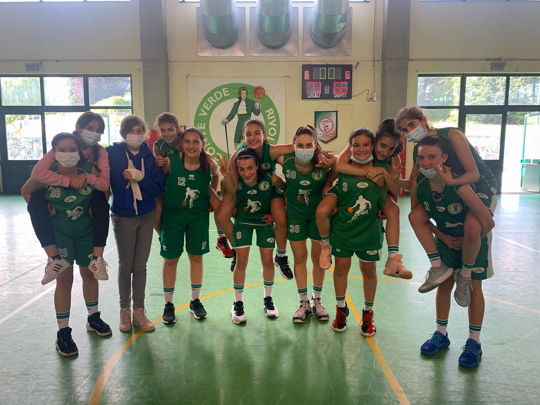 Under 14 femminile: vittoria sudata con Cuneo!
