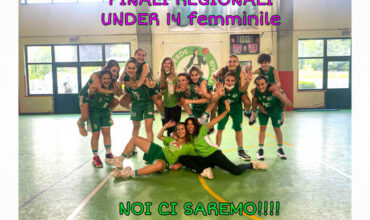Under 14 femminile: SIAMO IN FINALE!!!